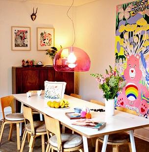 Boligreportage fra Lisa Grues hjem i Fiolstræde.