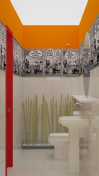 decoracao de lavabo simples : decoracao de lavabo simples: Pequenos Banheiros charmosos