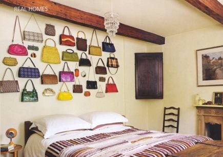 quarto bolsa parede