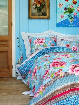 quarto colorido azul