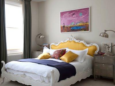 quarto cabeceira amarela