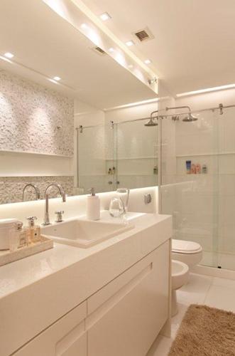 decoracao gesso banheiro : decoracao gesso banheiro:iluminacao-embutida-banheiro7