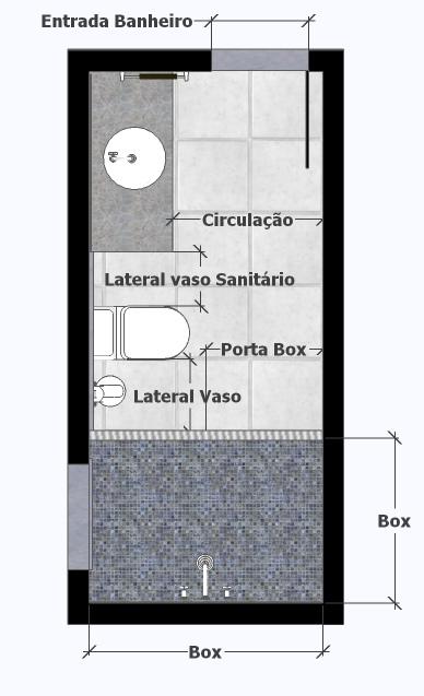 Largura Minima Porta Banheiro : A medida das coisas banheiros simples decoracao