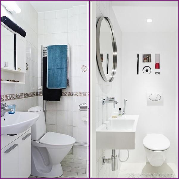 20 Banheiros E Lavabos Pequenos ~ Decoracao Banheiro Simples Pequeno