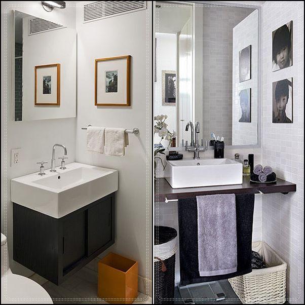 Lavabo No Banheiro : Banheiros e lavabos pequenos simples decoracao