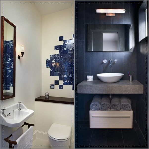 decoracao de lavabo simples : decoracao de lavabo simples: banheiros e lavabos pequenos