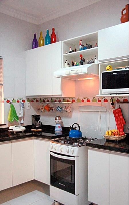 decoracao cozinha pequena simples: usadas nas cozinhas pequenas