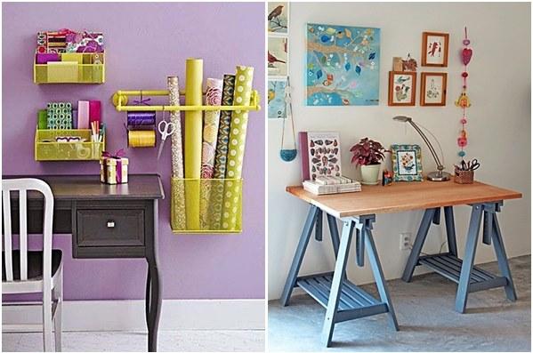 trabalhos manuais para decoracao de interiores : trabalhos manuais para decoracao de interiores:Um cantinho para trabalhos manuais em casa