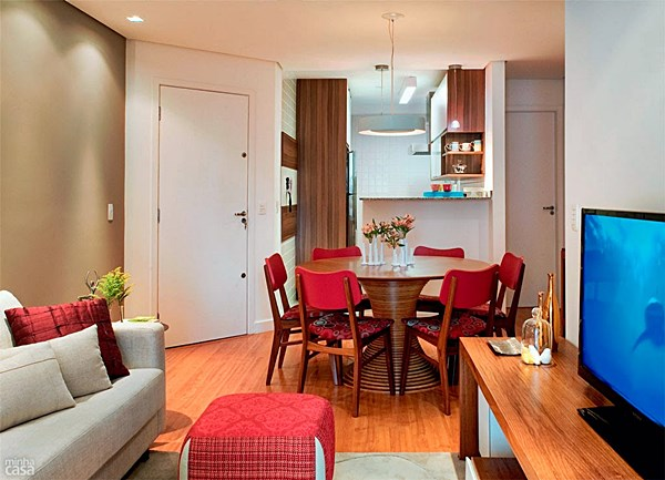 decoracao de sala jantar e estar juntas:01-apartamento-de-69m2-para-morar-trabalhar-e-receber-os-amigos
