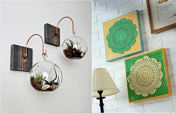 decoracao de interiores faca voce mesmo:Selecionei algumas ideias simples que podem ser feitas por você na