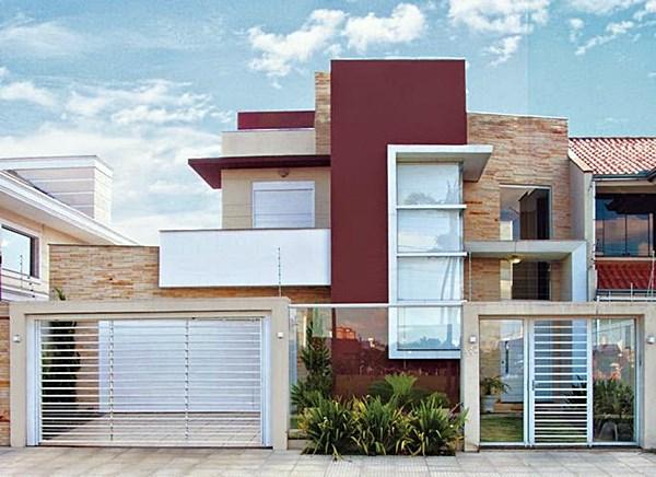 Revista Construir Mais por Menosfachadas-casas-muro-port25C325A3o-15