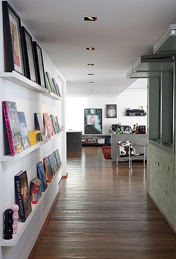 cj corredor-estante-de-livros