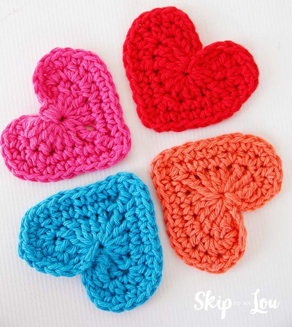 namorados skiptomylou easy-crochet-heart