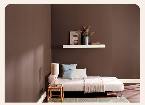 Ambientes inspiradores 2 simples decora o - Deco kamer bruin ...