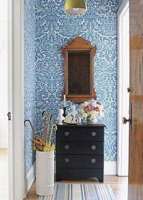 Minha mans o de 49m2 corredor voc j sabe o que fazer com ele eu sei - Como decorar un mueble con papel pintado ...