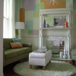 Colorido suave dá vida à sala