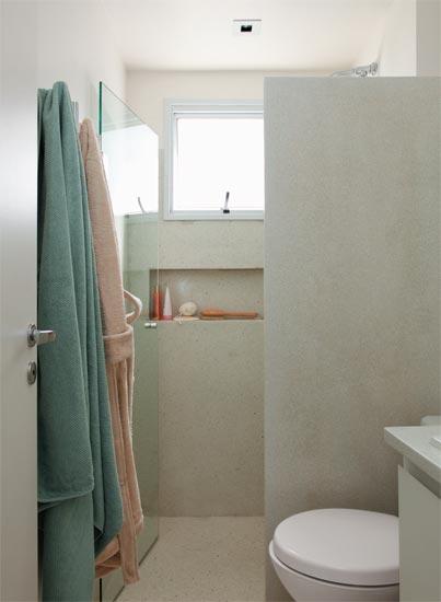 Minha caminhada rumo ao AP novinho em folha Banheiros pequenos novas ins -> Banheiro Simples De Sitio