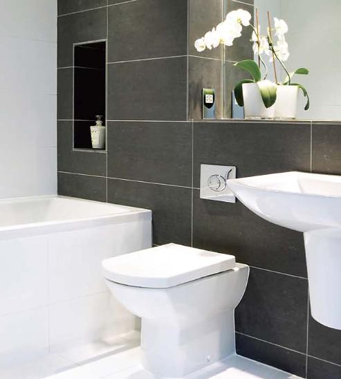 Sala pequena, quarto pequeno, banheiro pequeno  Big Design Móveis -> Banheiro Pequeno Metragem