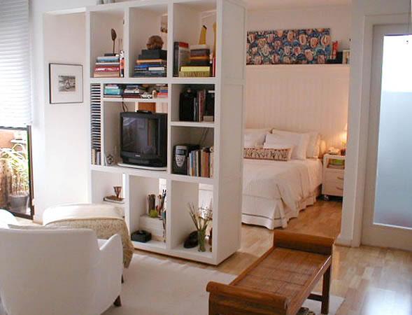 """decoracao de apartamentos pequenos na praia : decoracao de apartamentos pequenos na praia:Outra fazendo bonito ao dividir o estar e o jantar, sem """"pesar"""" no"""