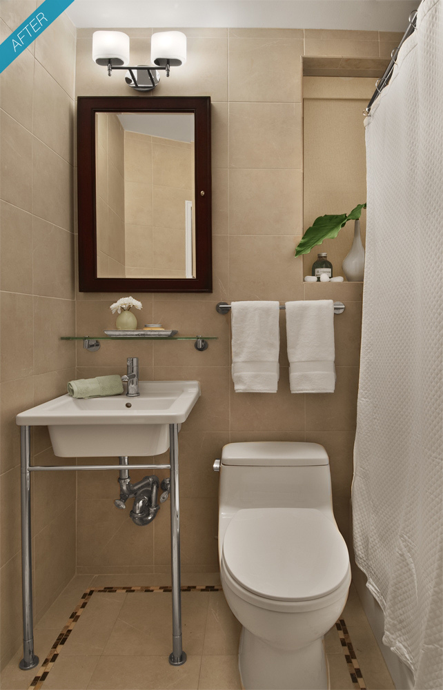 Elas Brincam de Casinha Banheiros pequenos -> Sugestao Banheiro Pequeno