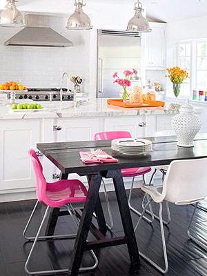 Térreo - Cozinha Roomremixcozinhabrancarosa