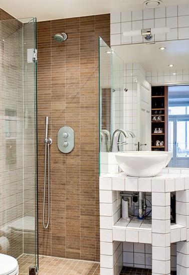 Decoração de Pequenos Banheiros(2)  Simples Decoracao  Simples Decoração -> Nicho Alvenaria Banheiro