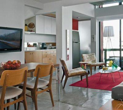 Decoração - Sala de Estar, Jantar e Cozinha - Tudo junto ...