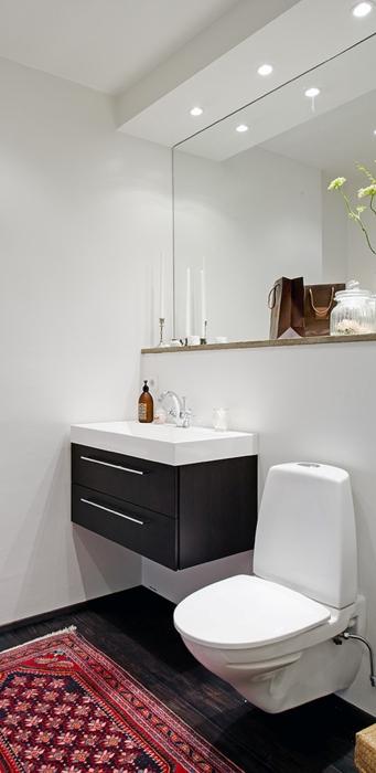 decoracao teto banheiro:que, mesmo pequeno, seu banheiro seja bonito e funcional (Banheiros