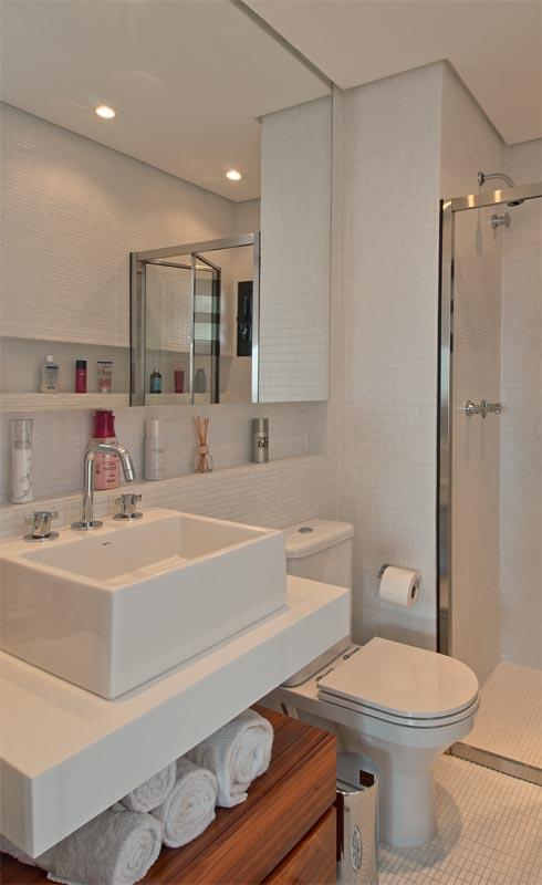 Tirando o máximo do Banheiro Pequeno  Simples Decoracao  Simples Decoração -> Banheiro Pequeno Solucao