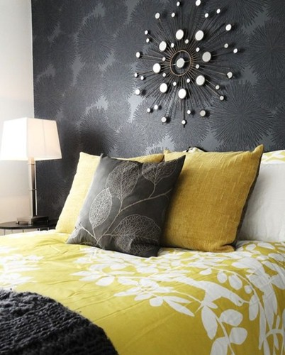 homeditgrey-yellow-bedding