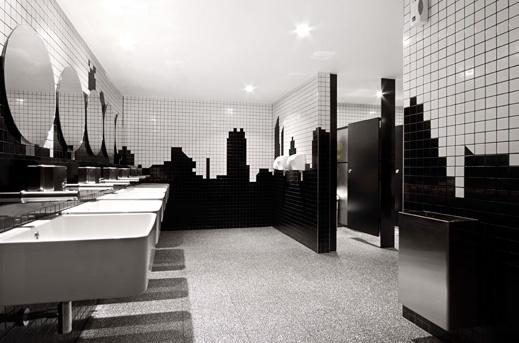 Soluções econômicas  Bar, Restaurante e Vitrine  Simples Decoracao  Simple -> Decoracao De Banheiros De Restaurantes