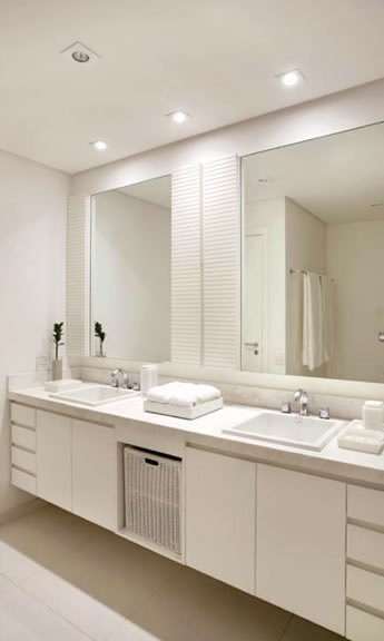 Gabinete Para Banheiro Armario de banheiro com vidro -> Armario Para Banheiro Cassol