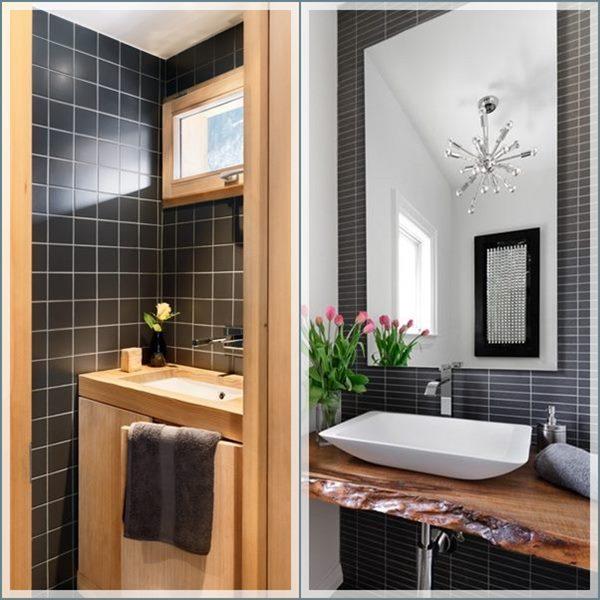 20 banheiros e lavabos pequenos  Simples Decoracao  Simples Decoração -> Decoracao De Banheiro Pequeno Cinza