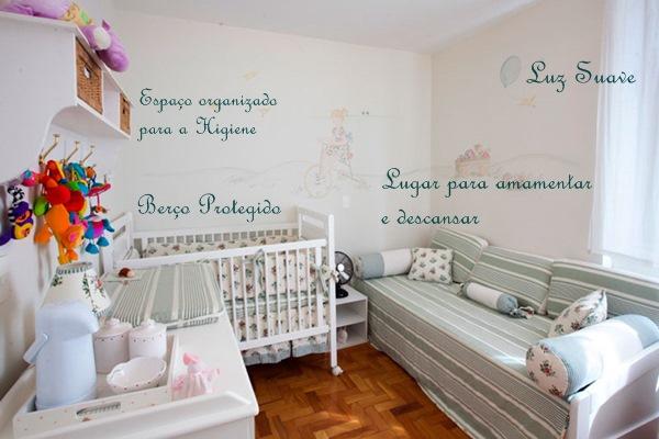 Quartos de bebê o que é importante Simples Decoracao  ~ Quarto Simples E Bem Organizado