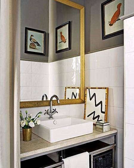 Lavabos e banheiros pequenos e bem resolvidos  Simples Decoracao  Simples D -> Banheiros Bem Simples