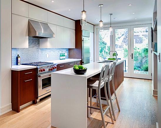 Cozinhas com ilha  Simples Decoracao  Simples Decoração # Cozinha Com Ilha Estreita