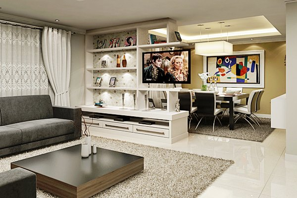 Tv Giratoria Sala E Cozinha