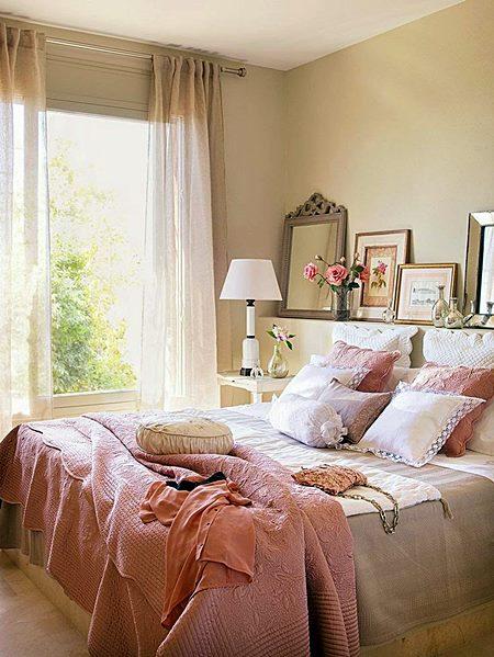 Decoração de Quarto de Casal 8 Dicas e 20 Fotos Blog Siote ~ Quarto Rosa Romantico