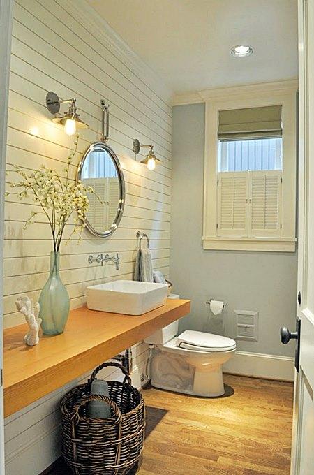 Banheiros e lavabos pequenos  10 ideias  Simples Decoracao  Simples Decoração -> Banheiros Lavabos Simples