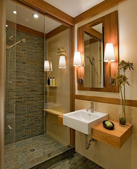 Decoração, Iluminação e Maquiagem  Simples Decoracao  Simples Decoração -> Banheiro Pequeno Iluminacao