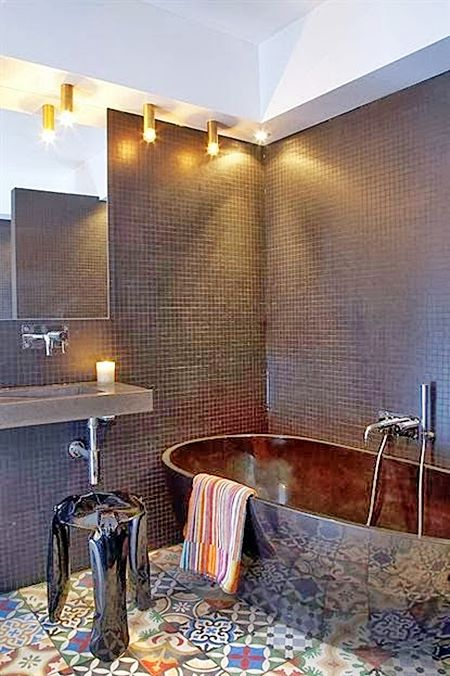 Banheiros com banheira  Simples Decoracao  Simples Decoração -> Banheiro Medio Com Banheira