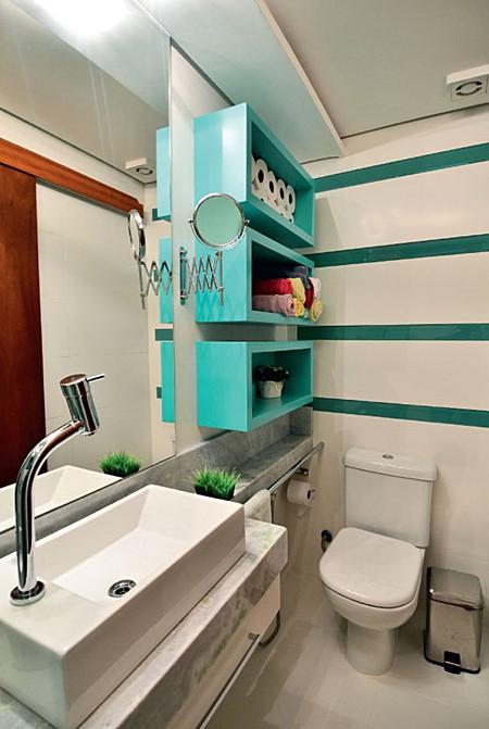 E quem não tem um lavabo ou banheiro pequeno?  Simples Decoração -> Banheiro Pequeno Custo