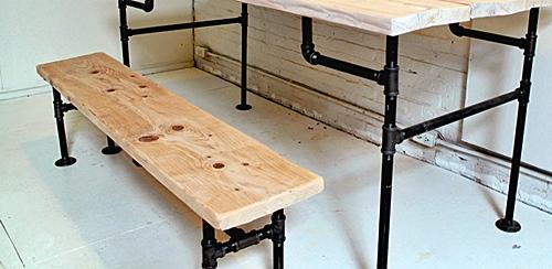 Canos de ferro para móveis