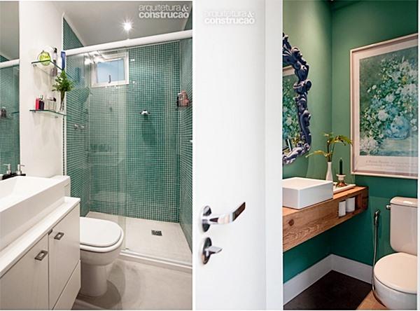 Dúvidas com as cores do banheiro ou lavabo?  Simples Decoracao  Simples Dec -> Decoracao De Banheiro Na Cor Cinza