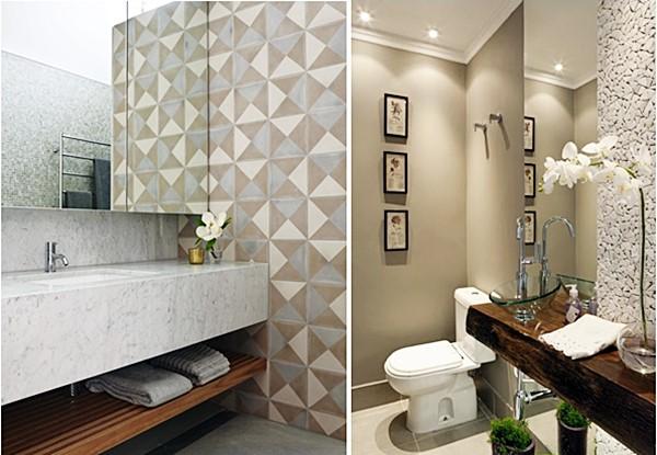 Dúvidas com as cores do banheiro ou lavabo?  Simples Decoracao  Simples Dec -> Banheiro Pequeno Cor Cinza