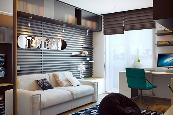 homedesigning stylish-teen-room-600x400
