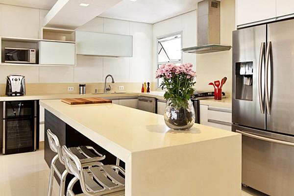 Uma ilha na cozinha  Simples decoracao  Simples Decoração # Ilha Quente Cozinha