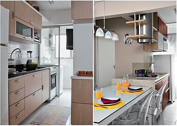 20 cozinhascorredor bem organizadas  Simples Decoracao  Simples Decoração # Uma Cozinha Simples