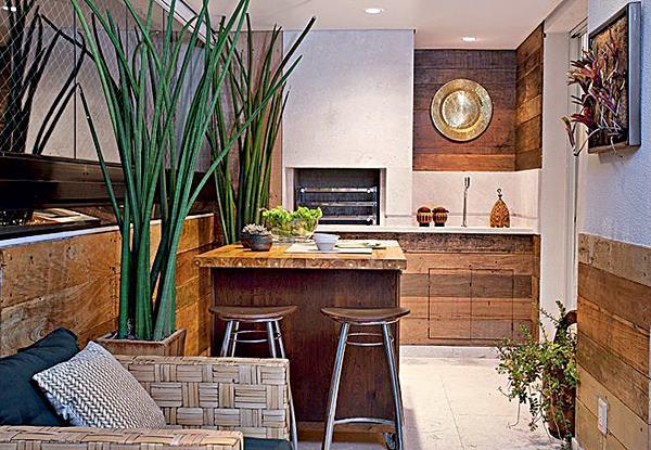 10 varandas gourmet ou varandinhas para um churrasco - Pisos banco caixa geral ...