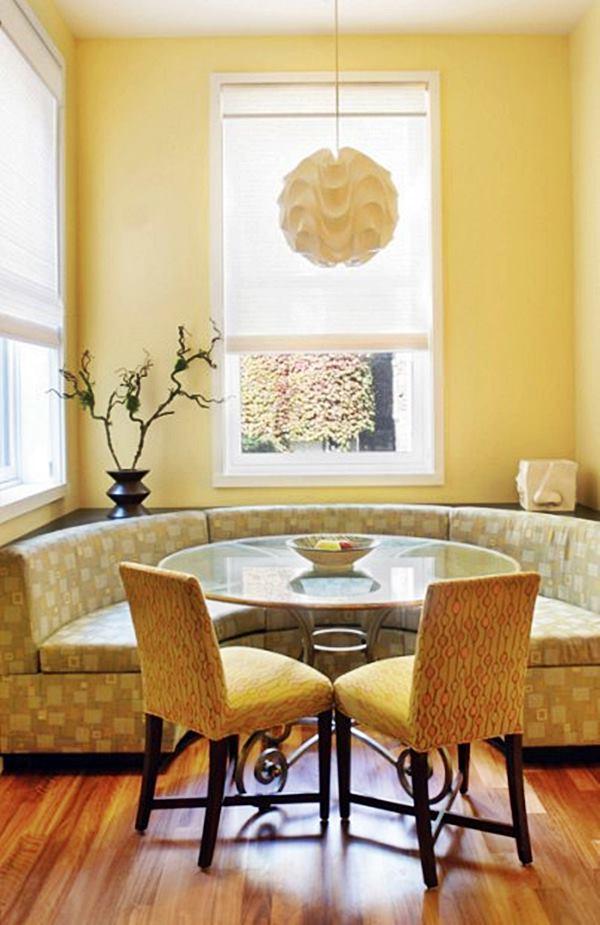Espa o para a mesa de jantar novolar empreendimentos for Mesas redondas pequenas